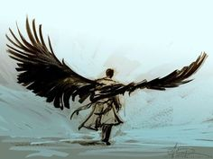 Never seen supernatural but look at this art.<-----How can you NOT have seen Supernatural? Everywhere you look, BAM!<<< I agree, amazing show Supernatural and a few other fandoms took over tumbler. Supernatural Fans, Fanart Destiel, Ange Demon, Sam Dean, Cultura Pop, Superwholock, Nerd, Creatures, Sketches