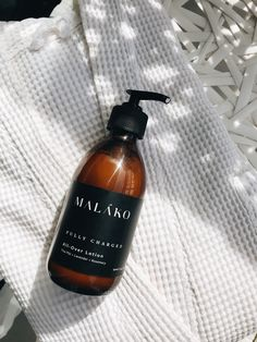 Fully Charged All-Over Lotion - MALAKO Skincare -  Best Body Cream Best Body Cream, Glass Packaging, Skincare Packaging, Moisturiser, Nice Body, Body Lotion, Shea Butter, Body Care, Bath And Body