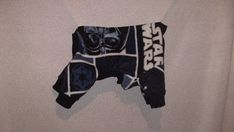 size small Star Wars ski jammies for small pets