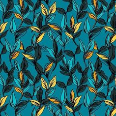 regram @susannanousiainen surfacedesignbank.com #tropicalleafs #leafs #surfacedesign #surfacespatterns