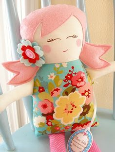 i want to make one of these cute dolls
