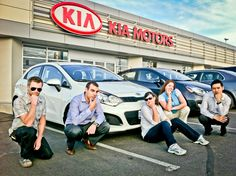Picking up your new Kia Rio in Newmarket, Ontario!
