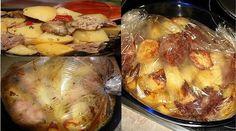 Vă prezentăm o rețetă de cartofi delicioși cu carne, copți într-o pungă. Obțineți un fel de mâncare cald deosebit de delicios și aromat, ce cu siguranță va fi pe placul tutor. Acesta se prepară uimitor de simplu, cu minim efort. Rezultatul însă este este măsura așteptărilor. Este soluția perfectă pentru zilele în care nu dispuneți de suficient timp pentru a găti. INGREDIENTE -800 g de cartofi -2 căței de usturoi -500 g de carne -1 ceapă -2 linguri sos de soia -1 lingură de mărar uscat -sare…