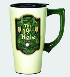 Spoontiques Golf Travel Mug Golf Travel, Travel Mug, Mugs, Tableware, Gifts, Dinnerware, Presents, Tumblers, Tablewares