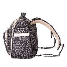 Ju Be B F Tote Backpack Style Diaper Bag Licorice Twirl