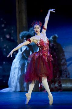 "Angela Paul as Autumn in ""Cinderella"" (Birmingham Royal Ballet). Photo: Bill Cooper"