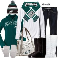 Philadelphia Eagles Winter Fashion