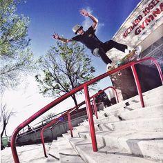 Fakie Hurricane | Axel Cruysberghs | in Sugar Skate Mag | #etnies