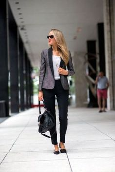 Shawl collar printed blazer, black pants, white top, business attire, work outfit, clothes for work, work clothes, business clothes