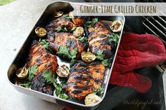 Chicken Recipes : Ginger Lime BBQ Chicken Recipes