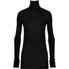 Rick Owens Cashmere turtleneck sweater found on Polyvore