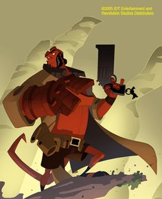 sean soule's digital art | Hellboy Animated Concept Art by Sean Galloway