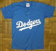 Vintage DODGERS 1990s LOS ANGELES. #itfdb https://www.etsy.com/listing/180571909/vintage-dodgers-1990s-los-angeles-henley