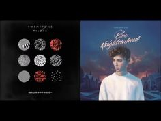 twenty one pilots vs. Halsey vs. Melanie Martinez vs. Troye Sivan - Stressed Out (Megamix) - YouTube