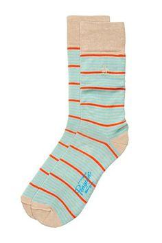 Thin Variegated Stripe Socks by Original Penguin on @HauteLook