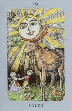 Swedish tarot card