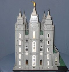 LEGO Salt Lake Temple