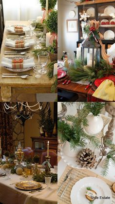 Here is part 2 of my 2013 Christmas Table roundup.     I will keep updating this post wi...