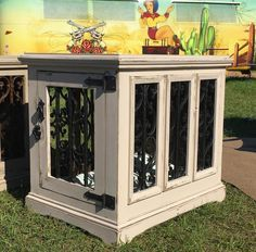 Custom indoor dog kennel by In The Dog House Kennels ($545) at the Warrenton Online Pet Supplies, Dog Supplies, Diy Dog Kennel, Dog Kennels, Kennel Ideas, Airline Pet Carrier, Dog Crate Furniture, Dog Cages, Niches
