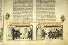 Vitae patrum, MS M.626 fol. 134r - Images from Medieval and Renaissance Manuscripts - The Morgan Library & Museum