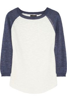 J.Crew Knitted baseball sweater-- absolutely love it!!!!!!