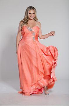 OMG it's like a sexy Disney Princess! Plus Size Prom Dress ...