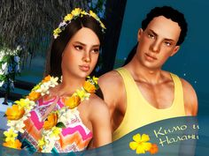 Kimo and Nalany by Severinka - Sims 3 Downloads CC Caboodle
