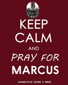 Pray for Marcus!