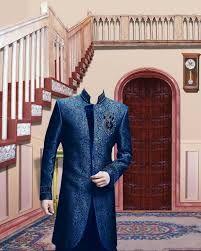 Lucky Studio Psd Sherwani Style 2014 With Studio Background