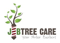 J and B Tree Care Logo Design