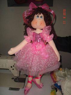 Ceci EuQfiz: Bonecas Bailarina