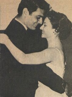 Omar Sharif and Egyptian wife and actress Faten Hamama