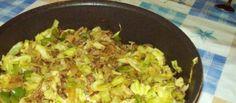 Lekker snel en gezond. De spitskool blijft lekker knapperig en smaakt heerlijk met de groene paprika en het roergebakken gehakt. Echt een aanrader.
