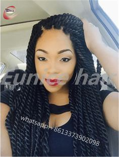 African Twist Crochet Braided Hairstyles For Black Women,Havana Mambo Twist Individual Braids Hair Products Free Shipping