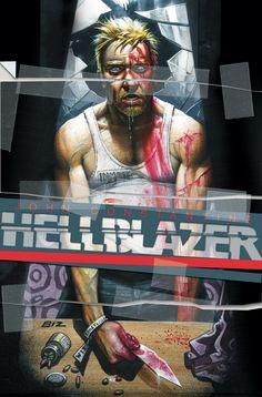 Hellblazer #268//Simon Bisley/B/ Comic Art Community GALLERY OF COMIC ART