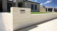 limestone letterbox