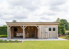 Backyard Storage Sheds, Shed Storage, Backyard Kitchen, Front Entrances, Pavilion, Outdoor Gardens, Pergola, New Homes, Home And Garden