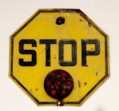 Antique STOP Sign (SOLD)