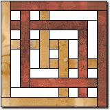 Carpenter's Square Block Pattern Blocks, Quilt Block Patterns, Quilt Blocks, Quilting Designs, Quilting Projects, Quilting Ideas, Celtic Quilt, Barn Quilts, Log Cabin Quilts