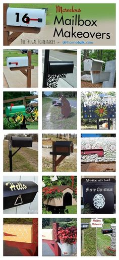 16 Marvelous Mailbox Makeovers (+ introducing you to Hometalk! Outdoor Projects, Home Projects, Mailbox Makeover, Outdoor Living, Outdoor Decor, How To Introduce Yourself, Curb Appeal, Decoration, Mailbox Ideas