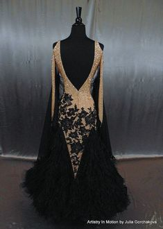 Shop ballroom dancing gowns by Julia Gorchakova, Natalia Gorchakova and their team. Custom costumes and jewelry for women and menswear in smooth, latin... #costumejewelry