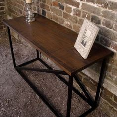 Table - reclaimed wood entry table, entry table - reclaimed wood ...