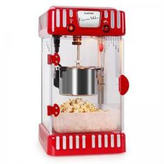 Volcano Popcorn Machine Stainless Steel Kettle Black - Whenever someone plans a movie night, the question of snacks always arises. With the Klarstein Volcano popcorn machine, the answer is quickl Stainless Steel Kettle, Stainless Steel Containers, Homemade Popcorn, Style Retro, Specialty Appliances, Maker, Making Machine, Fun Cooking, Finding Nemo