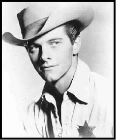Peter Brown from Lawman, 1950's - I was so in love with this guy!