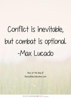 Conflict quote
