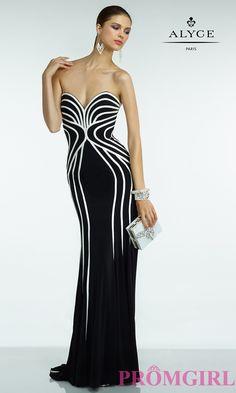 Alyce Long Strapless Prom Dress 💟$499.99 from http://www.www.petsolemn.com   #princess #girl #alyce #prom #strapless #long #dress #promdress #sexy