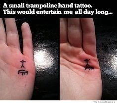 Most entertaining tattoo ever