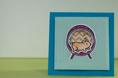 Card made with Lawn Fawn i wheelie like you stamp Set