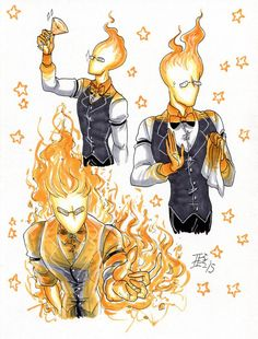 Grillby 2 by d0nkarnage on DeviantArt