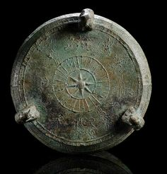 """A RARE RITUAL BRONZE VESSEL OF THE SHAPE """"HU"""" ON THREE FEET, SOUTH CHINA or VIETNAM, Han period (206 BC - 220 AD), Dongson culture"""